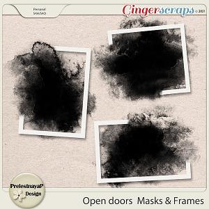 Open doors Masks & Frames