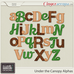 Under the Canopy Alpha Sets by Aimee Harrison