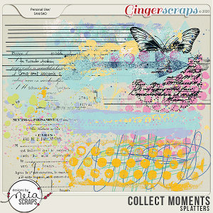 Collect Moments - Splatters - by Neia Scraps