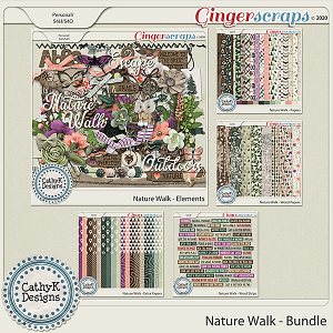 Nature Walk - Bundle by CathyK Designs