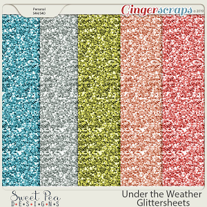 Under the Weather Glittersheets