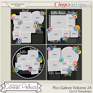 Pics Galore Volume 24- 12x12 Temps (CU Ok) by Connie Prince