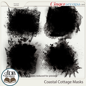 Coastal Cottage Masks by ADB Designs