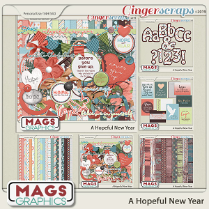 A Hopeful New Year BUNDLE by MagsGraphics