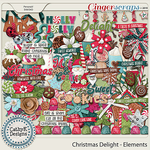 Christmas Delight - Elements by CathyK Designs