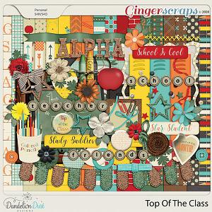Top Of The Class Digital Scrapbook Kit by Dandelion Dust Designs