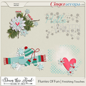 Flurries Of Fun | Finishing Touches