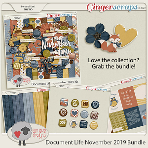 Document Life November 2019 Bundle by Luv Ewe Designs
