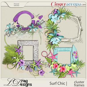 Surf Chic: Cluster Frames by LDragDesigns