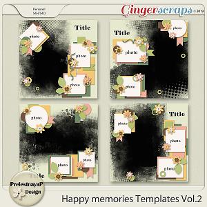 Happy memories templates Vol.2