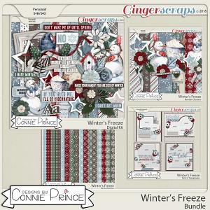 Winter's Freeze- Core Bundle by Connie Prince