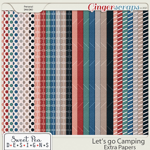 Lets go Camping Extra Papers