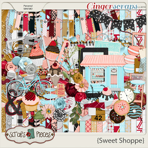 Sweet Shoppe Kit by Scraps N Pieces