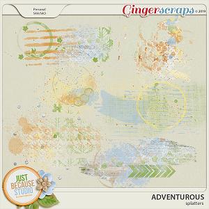 Adventurous Splatters by JB Studio