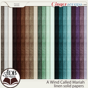 A Wind Called Mariah Solid Papers by ADB Designs