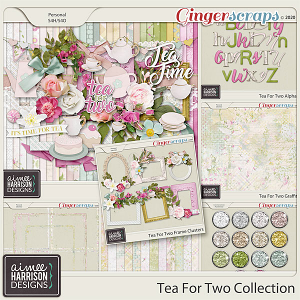 Tea for Two Collection by Aimee Harrison