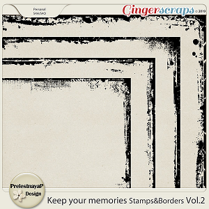 Keep your memories Stamps&Borders Vol.2