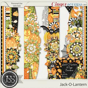 Jack O Lantern Page Borders