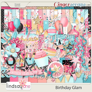 Birthday Glam by Lindsay Jane