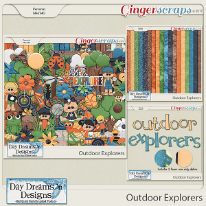 Outdoor Explorers {Bundle} by Day Dreams 'n Designs
