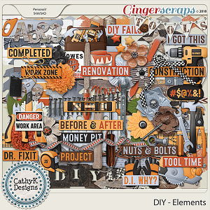 DIY - Elements by CathyK Designs