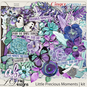 Little Precious Moments by LDragDesigns