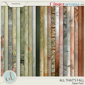 All That's Falll Paper Pack by Ilonka's Designs