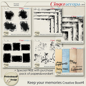 Keep your memories Creative Box #4
