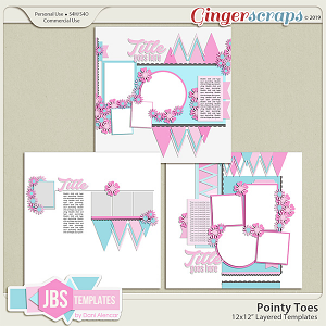 Pointy Toes Templates 1 by JB Studio