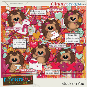 Stuck on You by BoomersGirl Designs