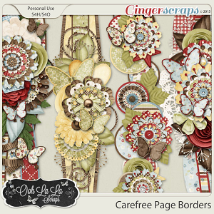 Carefree Page Borders