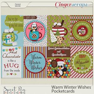 Warm Winter Wishes Pocketcards