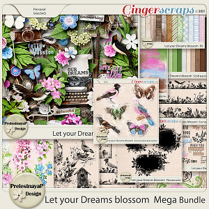 Let your Dreams blossom Mega Bundle