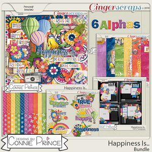 Happiness Is.. - Bundle by Connie Prince