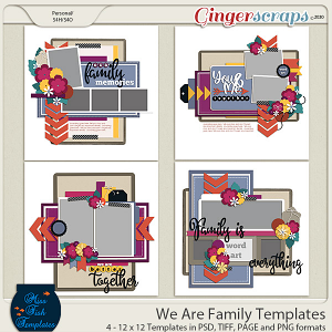 We Are Family Templates by Miss Fish