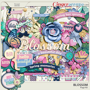 Blossom Page Kit by JB Studio