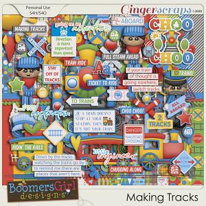 Making Tracks by BoomersGirl Designs