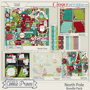 North Pole- Core Bundle by Connie Prince