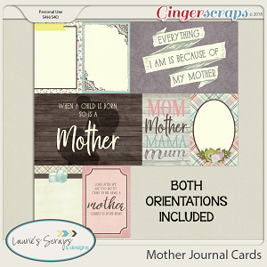 Mother Journal Cards