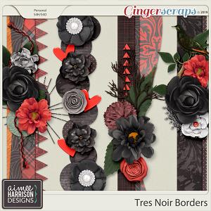 Très Noir Borders by Aimee Harrison