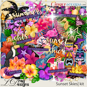 Sunset Skies by LDragDesigns