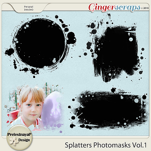Splatters Photomasks Vol.1