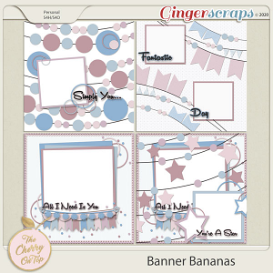 The Cherry On Top Banner Bananas Templates