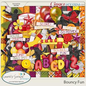 Bouncy Fun Page Kit