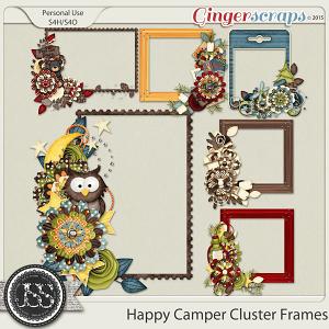 Happy Camper Cluster Frames