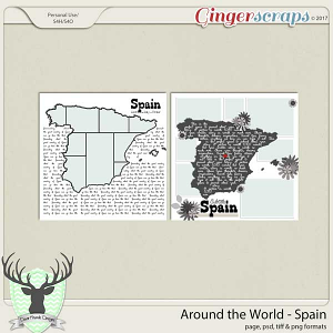 Around the World Countries: Spain by Dear Friends Designs