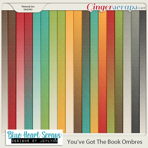 You've Got The Book Ombre Paper Pack