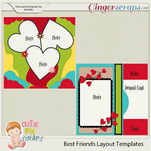 Best Friends Templates For Layouts