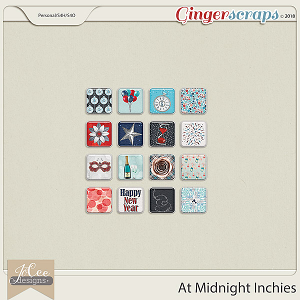 At Midnight Inchies by JoCee Designs