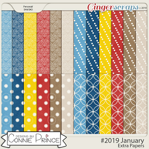 #2019 January - Extra Papers by Connie Prince